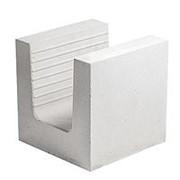 Блок силикатный Поревит 248х248х248 мм М150 U-образный фото