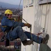 Высотные работы, выполняемые промышленными альпинистами фото