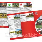 Буклет рекламный, дизайн, печать фото