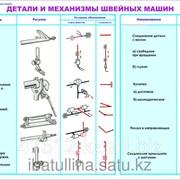Таблицы по обслуживающему труду Швейная машина В.5 фото