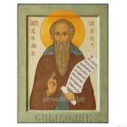 Икона св. прп. Авраамий Смоленский Артикул: 001035ид9006 фото