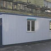 Здание мобильное контейнерного типа фото