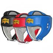 Шлем боксёрский с защитой верха БОКС-3. фото