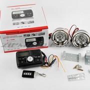Аудиосистема 2.0 mod:978 3, черные, сигнализация, МР3/FM/USB/SD, ПДУ, ЖК дисплей фото