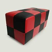 Банкетка/прямоугольник BN-001B(черн/красн) 370х700х360мм BN-001B(черн/красн) фото