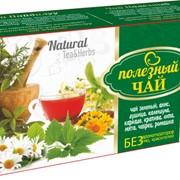 КРАСОТА и ЗДОРОВЬЕ (зеленый) Полезный чай 25ф/п * 2г фото