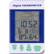 Цифровой термометр - метеостанция GM-110 фото