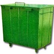 Контейнер мусорный средний фото