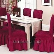 Чехлы на стулья производства Турции фото
