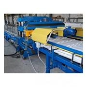 Линия по производству металлочерепицы фото