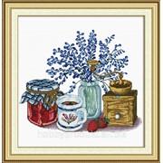 """Набор для вышивания """"Цветы и горшки"""" 130035 фото"""