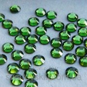 Стразы ДМС Hotfix (Премиум) Green ss10 (2,8mm) (100шт.) фото