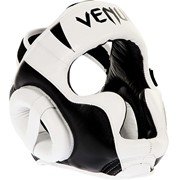 "Шлем Venum ""Absolute 2.0"" Headgear Nappa Leather BK/WH фото"