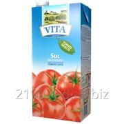 Сок томатный с мякотью Vita фото