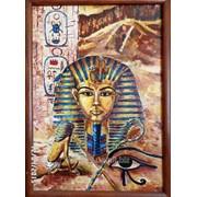 Картина_Тутанхамон. 43х60 см. 2006. Олія. Дошка. фото