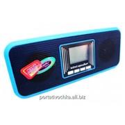 Портативная стерео колонка Atlanfa AT-8860 с USB, CardReader, Радиоприемником фото