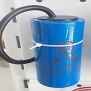 Конденсатор 350 пусковой (провода) фото