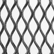 Оцинкованная просечно-вытяжная сетка фото