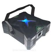 Дискотечный зеленый лазер с режимом звуковой активации и управлением DMX Koollight X-Performer фото