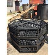 Переугливание топливного брикета пини-кей в древесно-угольные брикеты фото