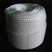 Канат полиамидный 3-х прядный 16мм фото