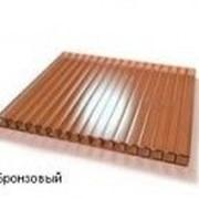 Сотовый поликарбонат 8мм бронза BORREX (Боррекс) фото