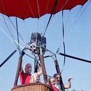 Организация и проведение привязного подъема на воздушном шаре фото