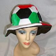 Шапка Футбольный мяч велюр фото