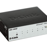 Коммутатор D-Link DGS-1005D, код 57614 фото
