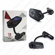 Mp3 Модулятор Car Mp3 Player Bluetooth T10 Black (Черный) фото