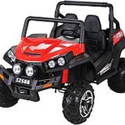 Двухместный полноприводный электромобиль Red Buggy 12V 2.4G - S2588 фото