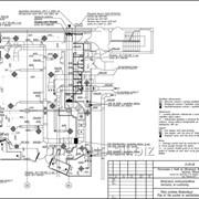 Проект системы вентиляции магазина одежды — 613 м2. фото