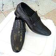 Туфли мужские кожаные Мида черные фото
