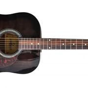 Акустическая гитара MAXTONE WGC4010 (BK) фото