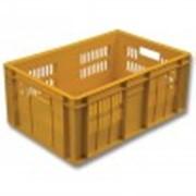Ящик пластиковый мясной фото