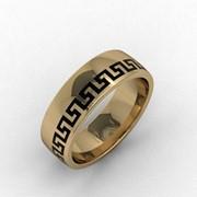 Золотое кольцо Луиза фото