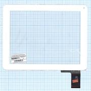 """Сенсорное стекло (тачскрин) 9.7"""", для Digma iDs D10 белый фото"""