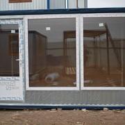 Офис блок-контейнер фото