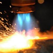 Газовая резка металла фото