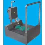 Компактная машина проходная для мойки подошв и боковых сторон обуви фото