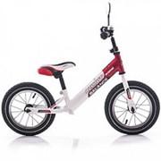 Беговел Azimut Balance Bike Air 12 Красно-белый фото