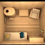Массажный SPA кабинет с кедровой фитобочкой фото