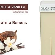 """Воск для депиляции """"Ваниль и масло Ши DELICA"""" картридж 100 грамм Италия (стандартная кассета с воском) фото"""