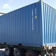 20-футовый высокий контейнер новый фото