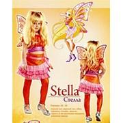 Карнавальный костюм Винкс Стелла 32 р-р, 34 р-р, 36 р-р фото