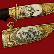 Нож Охота с борзыми фото