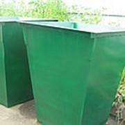 Порошковая покраска мусорных контейнеров фото