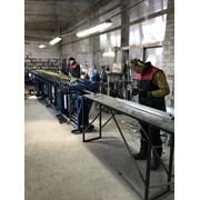 Линия для производства фальцевой трубы 25х25мм фото
