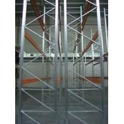 Монтаж складских и торговых стеллажей фото
