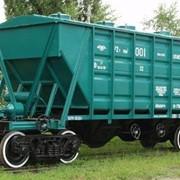 Перевозка вагонами хоппер, перевозка товара вагонами хоппер. фото